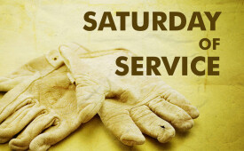 Saturday of Service